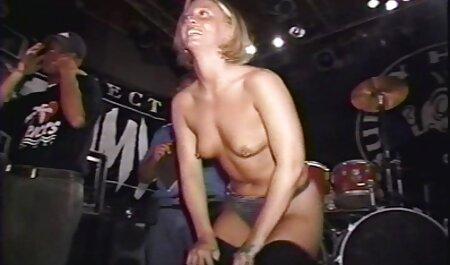 هاردکور, رابطه جنسی با رقص سکسی کون یک خانم بلوند در fishnets
